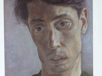Like the Cowie's Two Schoolgirls, I stumbled on this long after I'd created the character of Toby. Coming across it was like recognizing an old friend. The sad eyes, everything really, just felt like Toby. John Minton, an artist and illustrator, commissioned this portrait himself and five years later committed suicide.